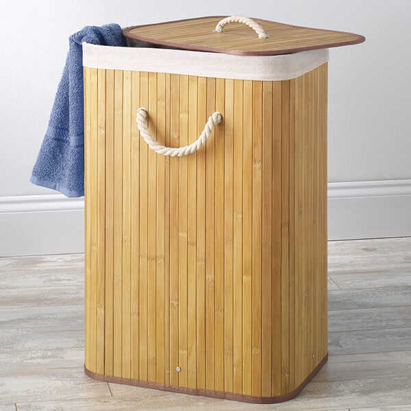 Best-Eco-Friendly-Bamboo-Laundry-Hamper-With-Lid-Whitmor