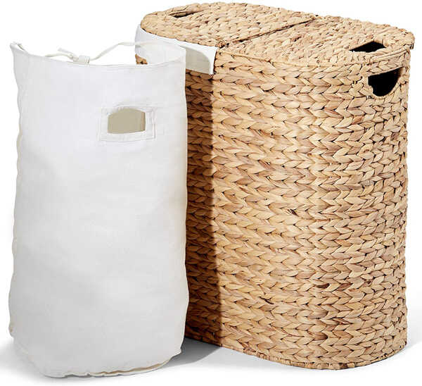 Best Eco-Friendly Laundry Baskets And Hampers Seville Classics