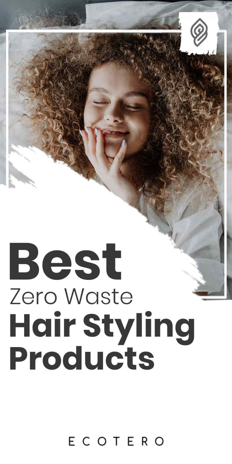 11 Zero Waste Hair Styling Products For A Guilt-Free Hairstyle