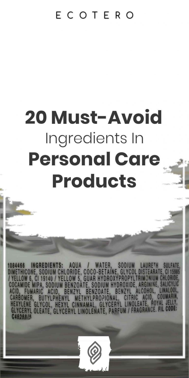What Ingredients To Avoid In Personal Care Products