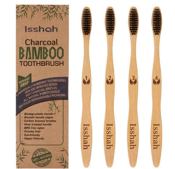Isshah-Eco-Friendly-Bamboo-Charcoal-Toothbrush