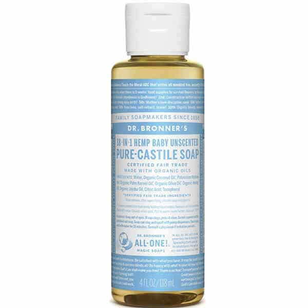 Zero Waste Baby Soap by Dr Bronner