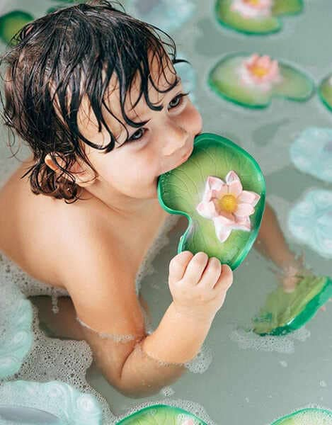 Oli-and-Carol-Water-Lily-Non-Toxic-Chewable-Baby-Toy
