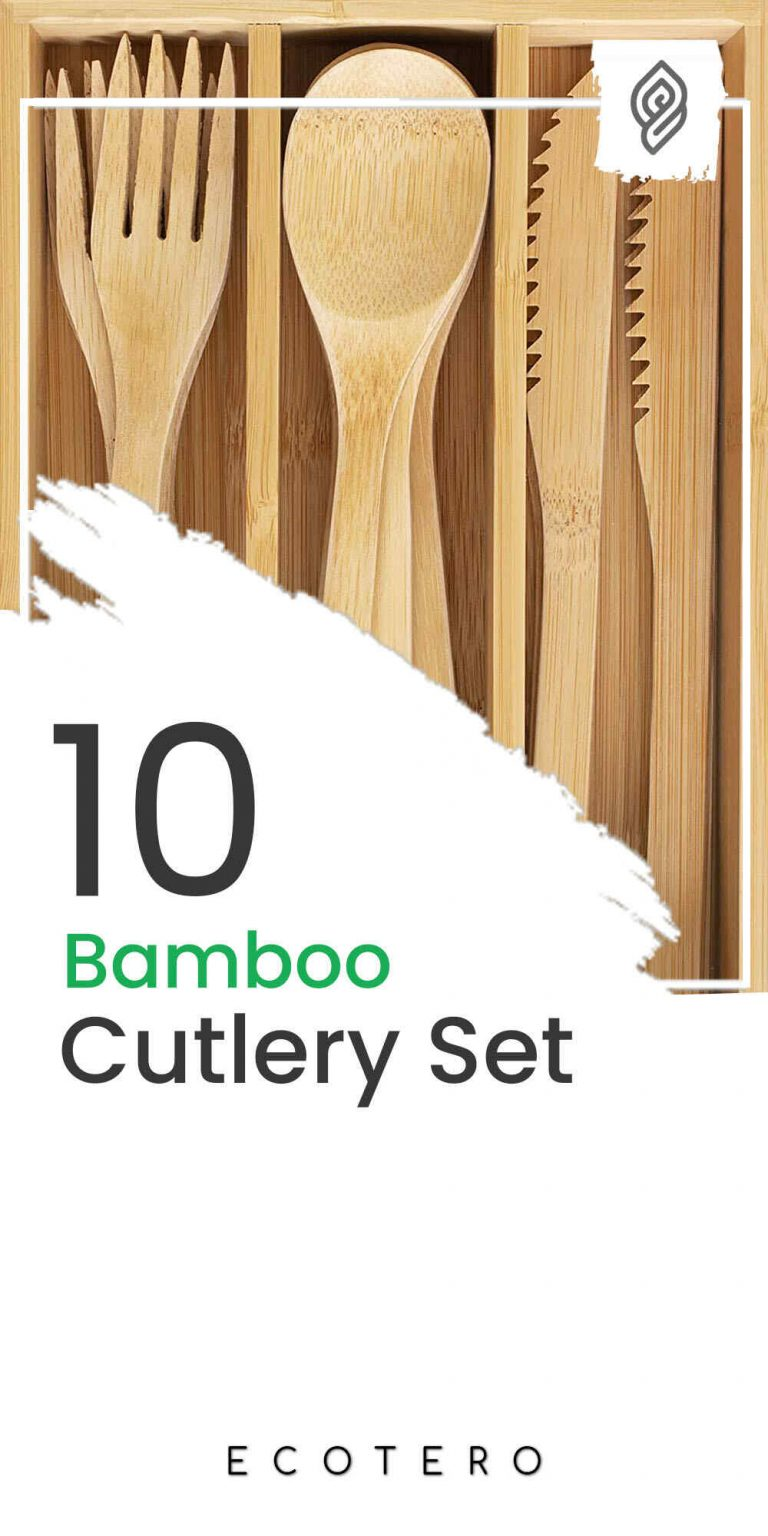 10 Eco-Friendly Bamboo Cutlery Sets & Cooking Utensils