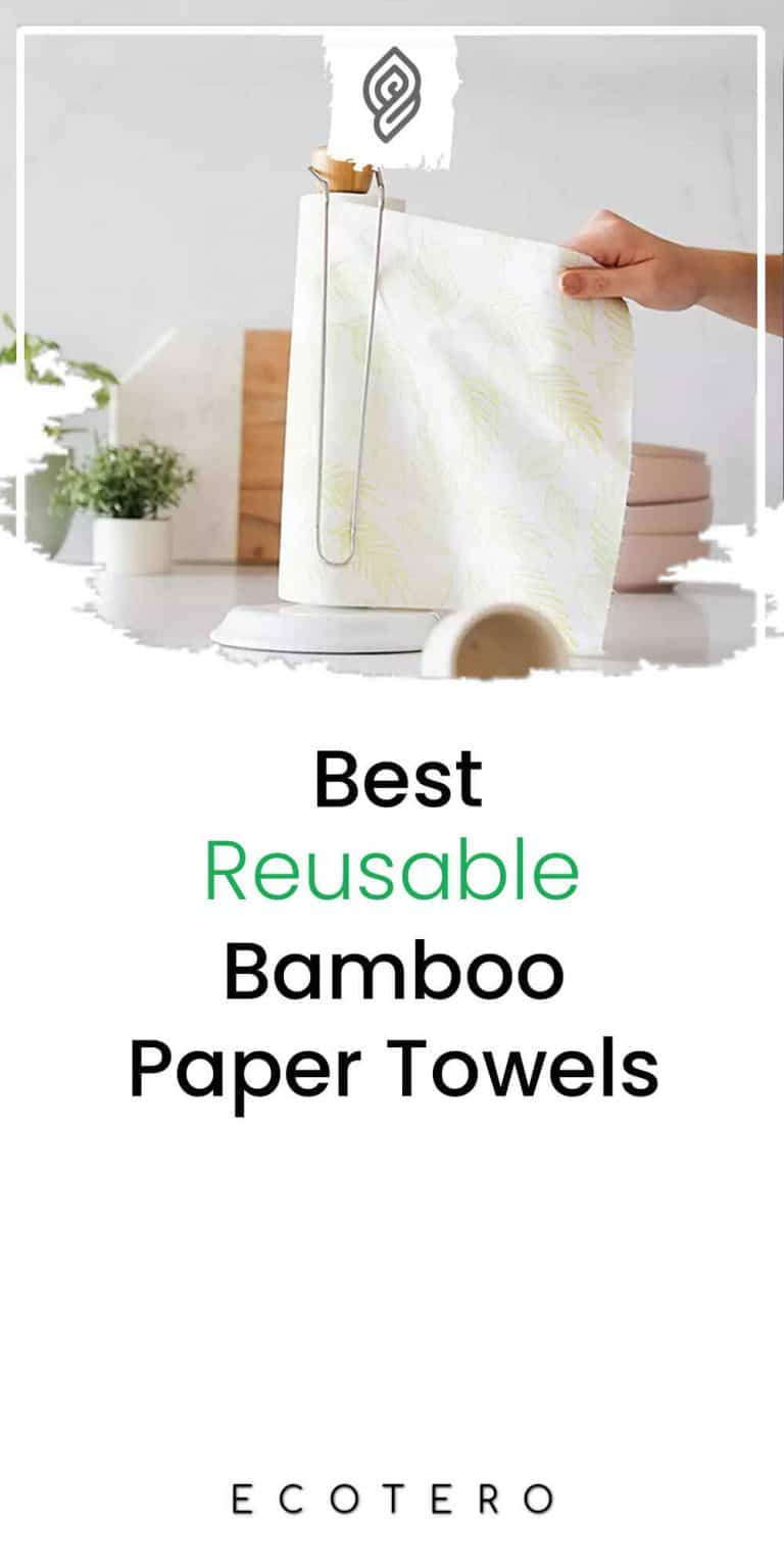 13 Best Reusable Bamboo Paper Towels For Eco-Friendly Kitchen