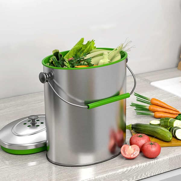 iTouchless-Stainless-Steel-Countertop-Compost-Bin